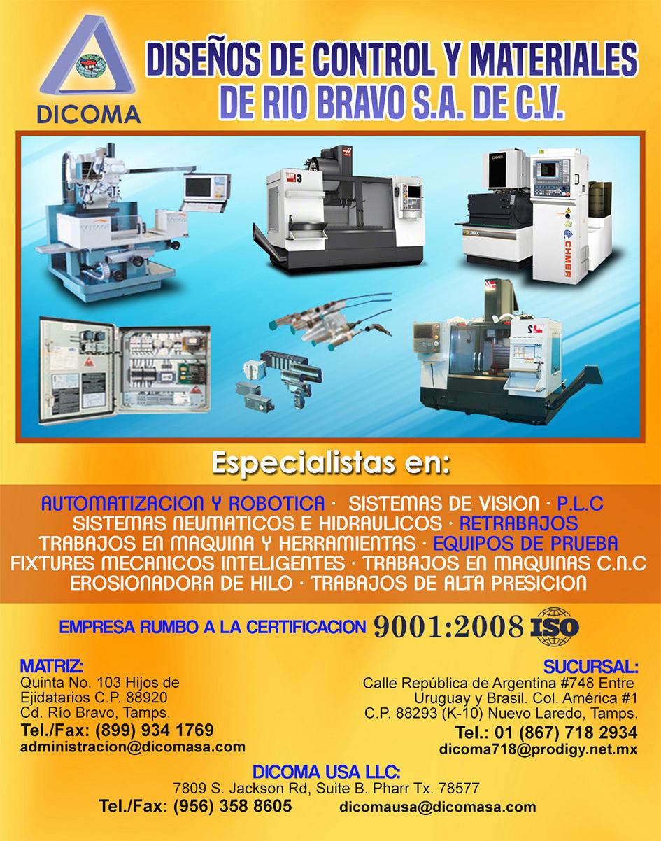 Diseño de Control y Materiales Río Bravo